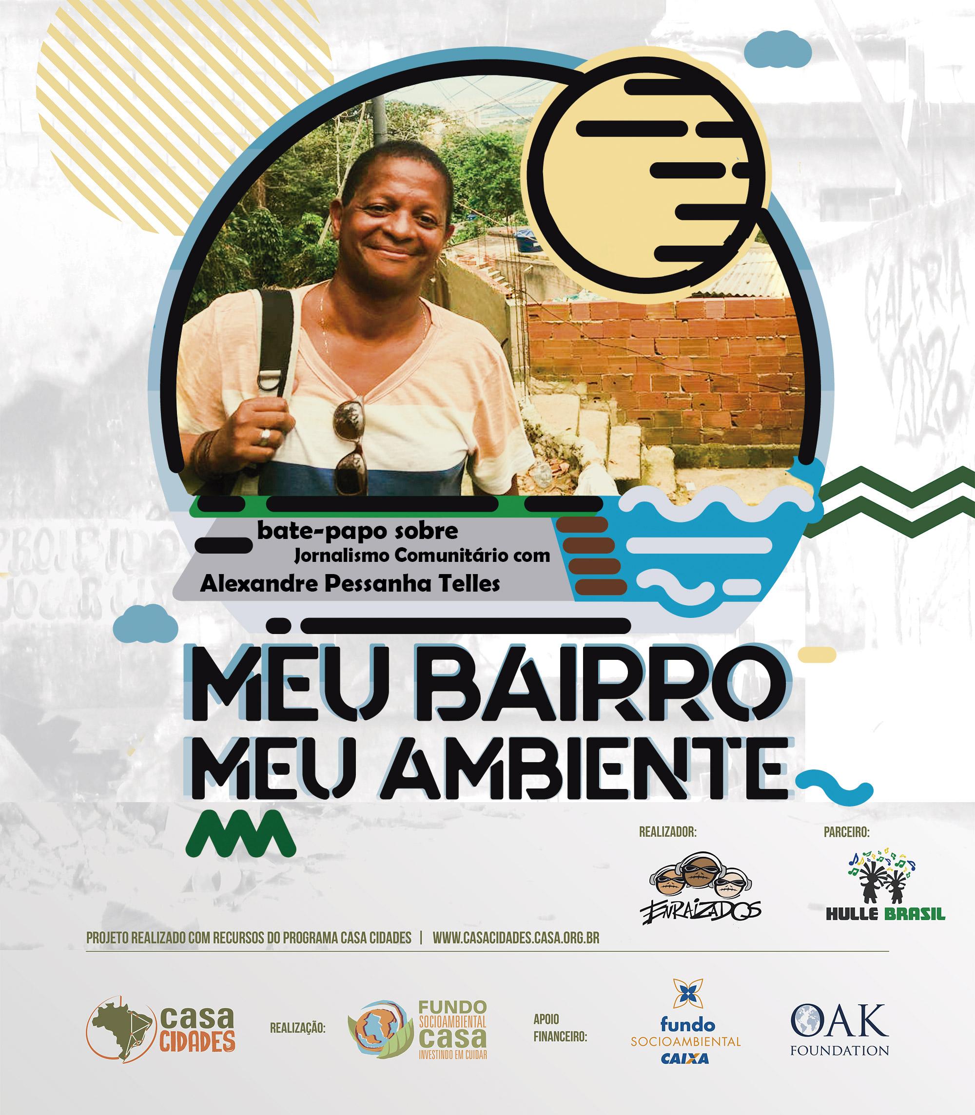 Jornalista ALexandre Pessanha Telles, do Quilombo do Camorim